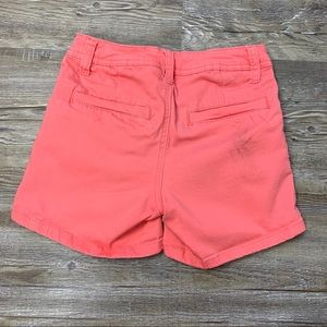 Justice Bottoms - Justice Girls Coral Orange Shorts Size 8